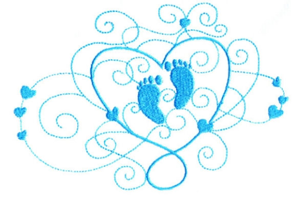 Enchanted Baby Babies & Kids Embroidery Design By Sue O'Very Designs - Image 1