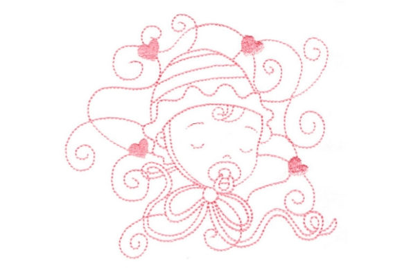 Enchanted Baby Boys & Girls Embroidery Design By Sue O'Very Designs