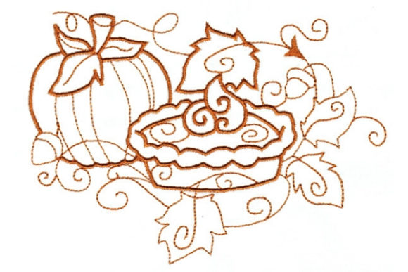 Enchanted Fall Autumn Embroidery Design By Sue O'Very Designs - Image 1
