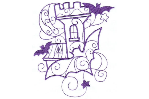 Enchanted Fall Halloween Embroidery Design By Sue O'Very Designs