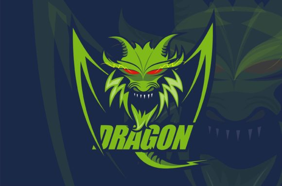 Download Free Esport Logo Gaming Dragon Graphic By Edywiyonopp Creative Fabrica for Cricut Explore, Silhouette and other cutting machines.