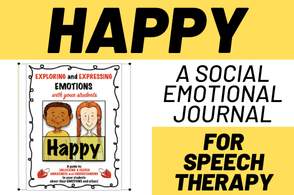 Exploring Emotions: Happy Graphic Teaching Materials By Play Learn Talk