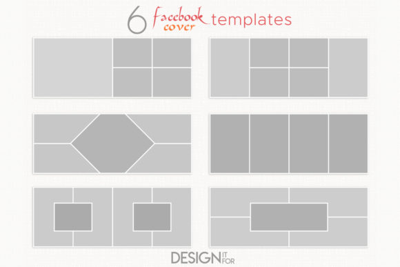 Print on Demand: Facebook Cover Template Collage Graphic Graphic Templates By DesignItfor