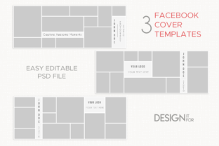 Print on Demand: Facebook Cover Template Graphic Graphic Templates By DesignItfor