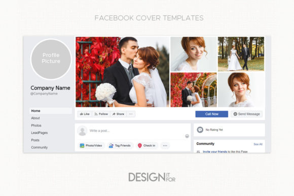 Download Free Facebook Cover Template Collage Grafik Von Designitfor for Cricut Explore, Silhouette and other cutting machines.