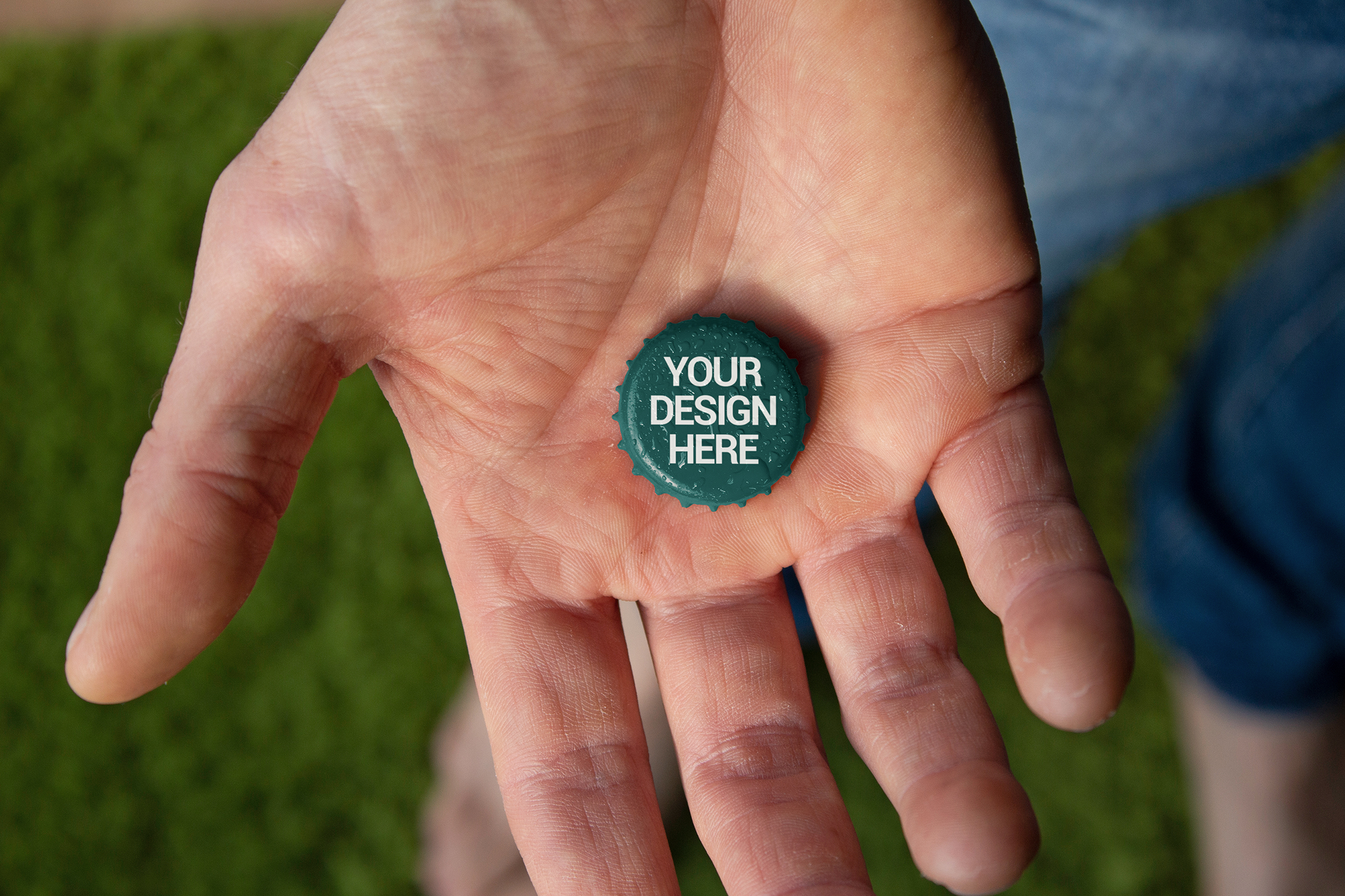 Download Free Garden Beer Cap Hand Mockup Graphic By Smartdesigns Creative for Cricut Explore, Silhouette and other cutting machines.