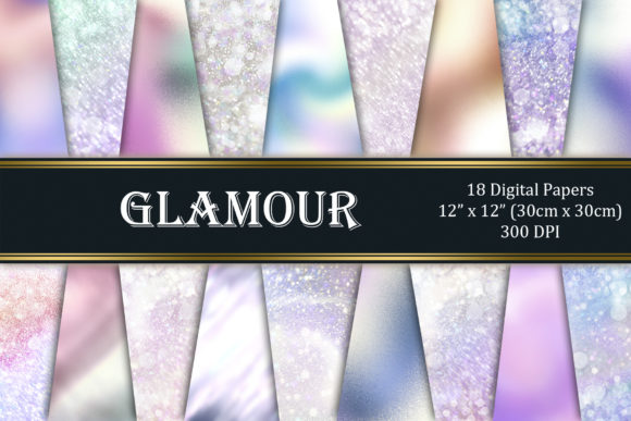 Glamour Graphic Textures By Tara Artisan