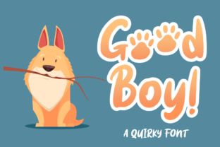 Download Free Good Boy Font By Attypestudio Creative Fabrica SVG Cut Files