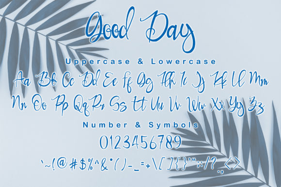 Download Free Good Day Font By Andreyfontdesign Creative Fabrica for Cricut Explore, Silhouette and other cutting machines.