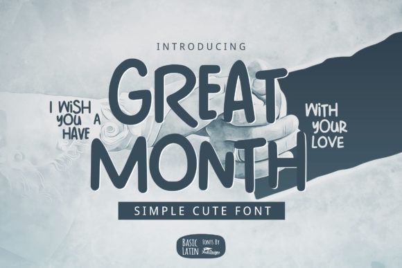 Print on Demand: Great Month Sans Serif Font By YandiDesigns