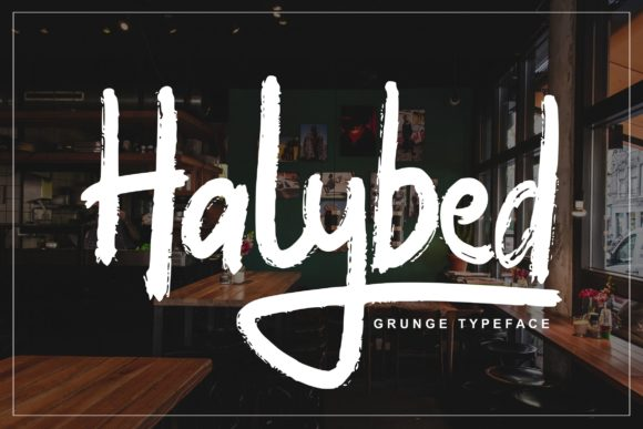 Print on Demand: Halybed Script & Handwritten Font By Vunira