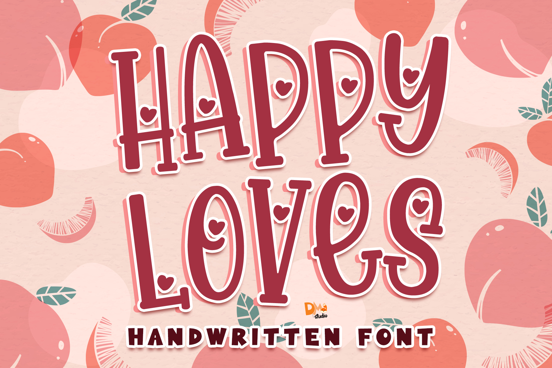Download Free Happy Loves Font By Dmletter31 Creative Fabrica SVG Cut Files