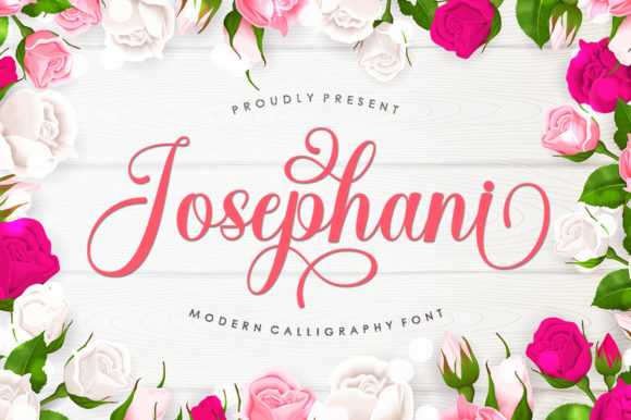 Print on Demand: Josephani Script & Handwritten Font By Romie Creative