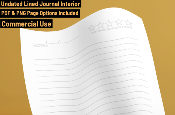 Download Free Kdp Journal Interior 1 Graphic By Ombremedia Creative Fabrica for Cricut Explore, Silhouette and other cutting machines.