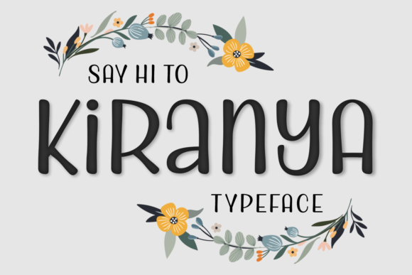 Print on Demand: Kiranya Script & Handwritten Font By Situjuh