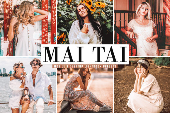 Print on Demand: Mai Tai Lightroom Presets Pack Graphic Actions & Presets By Creative Tacos