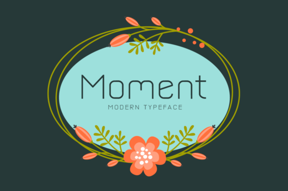 Print on Demand: Moment Display Font By Seemly Fonts