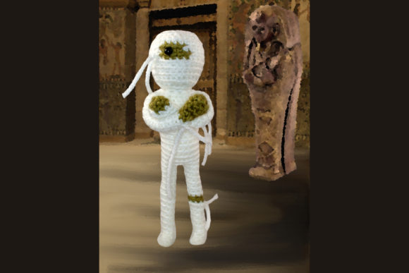 Mummy Crochet Patternne Graphic Crochet Patterns By Knit and Crochet Ever After - Image 2