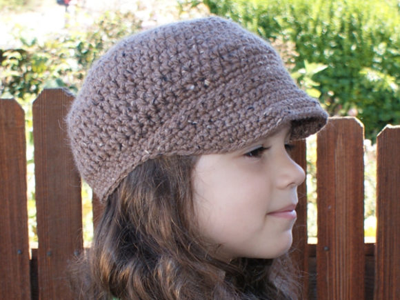 Newsboy Cap Crochet Pattern Graphic Crochet Patterns By Knit and Crochet Ever After - Image 1