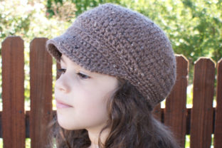 Newsboy Cap Crochet Pattern Graphic Crochet Patterns By Knit and Crochet Ever After 2