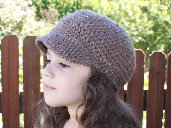 Newsboy Cap Crochet Pattern Graphic Crochet Patterns By Knit and Crochet Ever After - Image 2