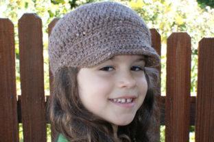 Newsboy Cap Crochet Pattern Graphic Crochet Patterns By Knit and Crochet Ever After 3