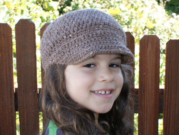 Newsboy Cap Crochet Pattern Graphic Crochet Patterns By Knit and Crochet Ever After - Image 3