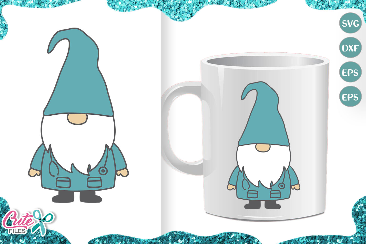 Download Free Nurse Gnome Medical Gnome Graphic By Cute Files Creative Fabrica for Cricut Explore, Silhouette and other cutting machines.
