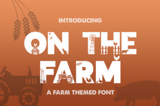 Print on Demand: On the Farm Display Font By Salt & Pepper Designs