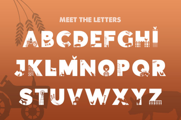 Print on Demand: On the Farm Display Font By Salt & Pepper Designs - Image 2