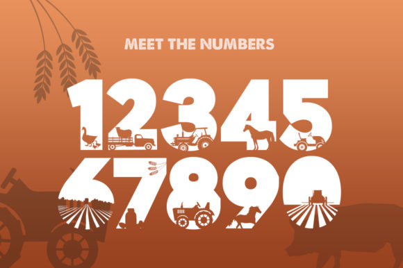 Print on Demand: On the Farm Display Font By Salt & Pepper Designs - Image 3