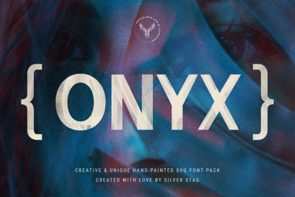 Print on Demand: Onix Display Font By SilverStag