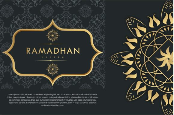 Download Free Ramadhan Kareem Background Graphic By Edywiyonopp Creative Fabrica for Cricut Explore, Silhouette and other cutting machines.