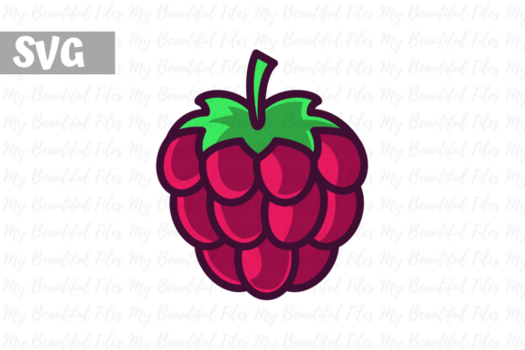 Download Free Raspberry Illustration Icon Svg Graphic By Mybeautifulfiles for Cricut Explore, Silhouette and other cutting machines.