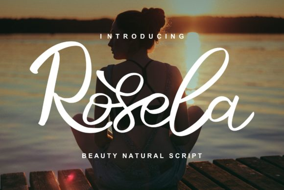 Print on Demand: Rosela Script & Handwritten Font By Vunira