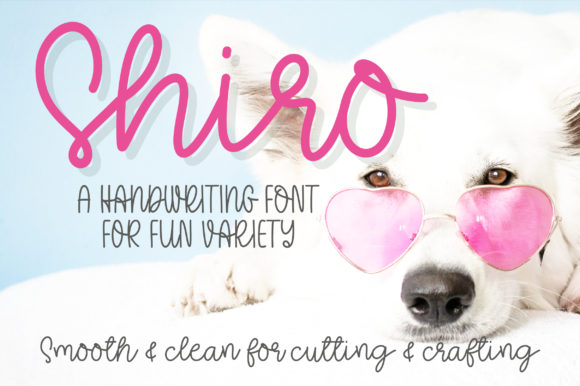 Print on Demand: Shiro Script & Handwritten Font By bitongphoto