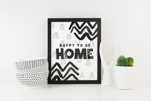 Print on Demand: Stay Home Display Font By Latin Vibes - Image 3