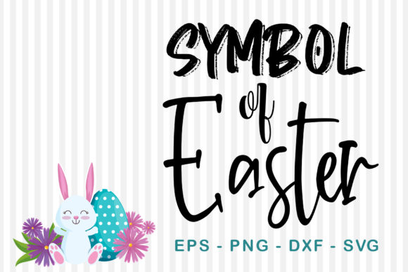 Download Free Symbol Of Easter Graphic By Sharon Dmstudio Creative Fabrica for Cricut Explore, Silhouette and other cutting machines.