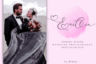 Print on Demand: With You Script & Handwritten Font By aldedesign 6
