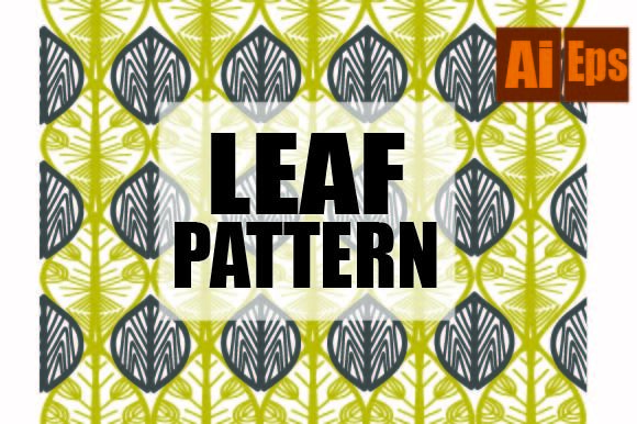 Design Pattern Leafing Graphic Patterns By ahmaddesign99