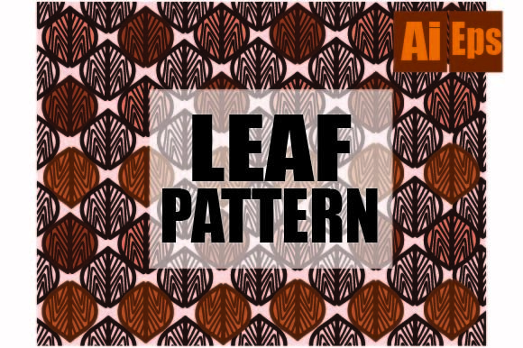 Download Free Pattern Leaf Design Graphic By Ahmaddesign99 Creative Fabrica for Cricut Explore, Silhouette and other cutting machines.