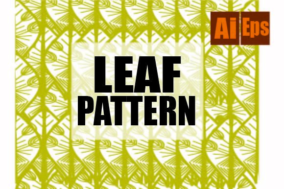 Pattern Leaf Design Graphic Patterns By ahmaddesign99