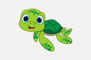 Print on Demand: Turtle Graphic Illustrations By curutdesign