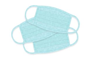 Download Free Vector Medical Face Mask Safety Graphic By Ju Design Creative for Cricut Explore, Silhouette and other cutting machines.