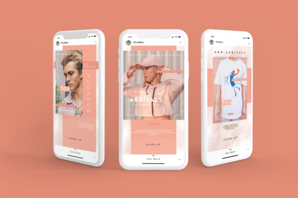 Download Free Animated Instagram Stories Posts Graphic By Pixelhivepro for Cricut Explore, Silhouette and other cutting machines.