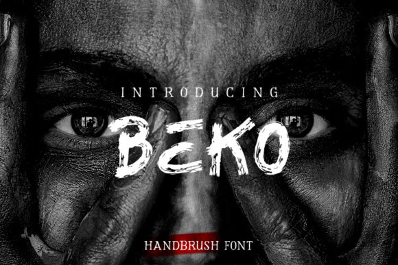 Print on Demand: Beko Display Font By kokostd