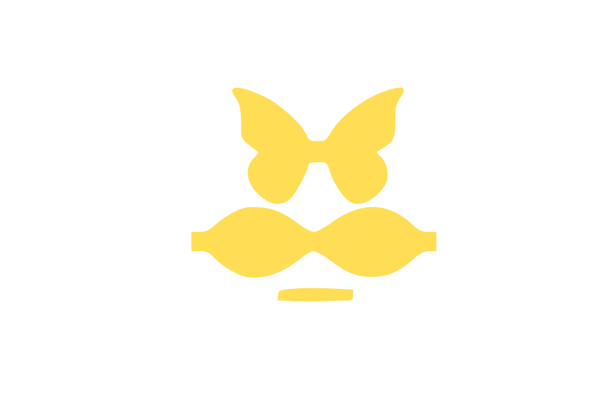 Butterfly Hair Bow Template Graphic By Jl Designs Creative Fabrica