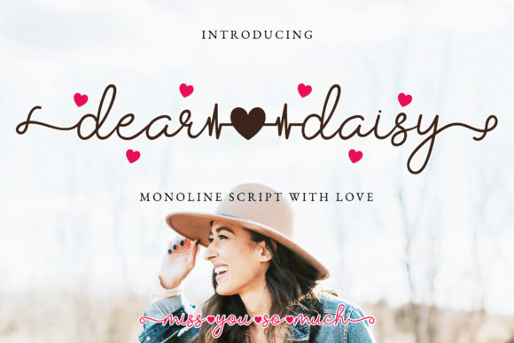 Print on Demand: Dear Daisy Script & Handwritten Font By airotype