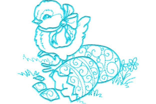 Enchanted Easter Easter Embroidery Design By Sookie Sews