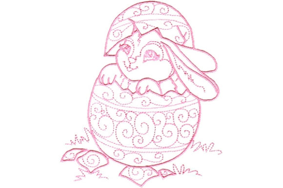 Enchanted Easter Easter Embroidery Design By Sue O'Very Designs